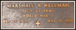 Marshall R Wellman
