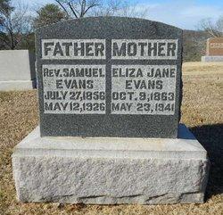 Eliza Jane <I>Presswood</I> Evans