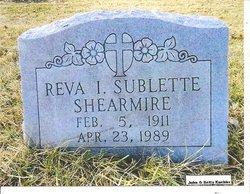 Reva Iola <I>Sublette</I> Shearmire