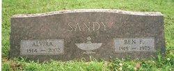 """Alvira Virginia """"Vira"""" <I>Chambers</I> Sandy"""