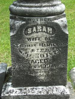 "Sarah Jane ""Sally"" <I>Prather</I> Hamilton"