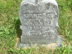 Jane Elizabeth <I>Chandler</I> Bell