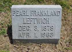 Pearl <I>Frankland</I> Leftwich