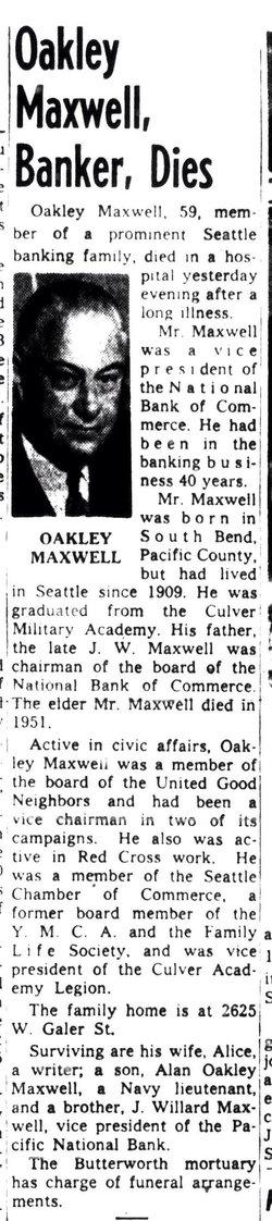 Oakley Maxwell