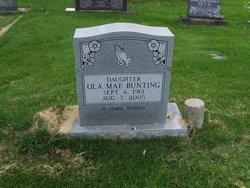 Ola Mae <I>Gentry</I> Bunting