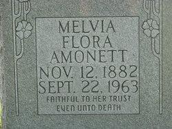 Melvia Flora <I>Dennis</I> Amonett