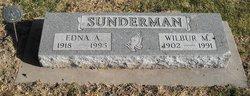 Edna Alice <I>Barnes</I> Sunderman
