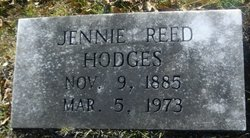 Jennie <I>Reed</I> Hodges