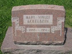 Mary Violet <I>Smith</I> Ackelbein