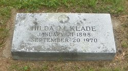 "Hildagard Matilda ""Hilda"" <I>Kainz</I> Klade"