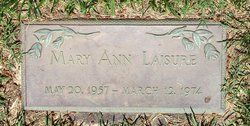 Mary Ann Laisure