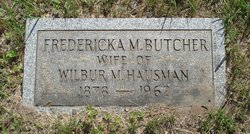 Fredericka M <I>Butcher</I> Hausman