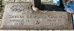 Shelia Lemons Gaines