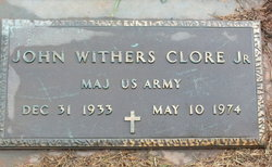 John Withers Clore, Jr