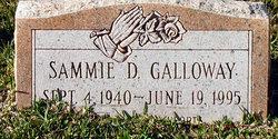 Sammie D Galloway