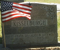 Harry Frank Kisselburgh, Sr
