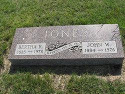 Bertha R Jones