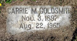 Carrie M. Goldsmith