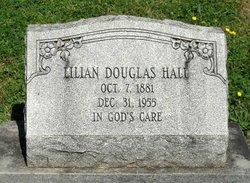 Lilian <I>Douglas</I> Hall