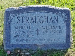 Alfred D Straughan
