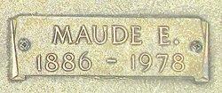 Maude E. Kentfield
