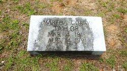 Martha Robeson <I>Corry</I> Taylor