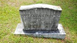 Mary Elizabeth <I>Bayly</I> Taylor