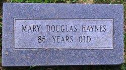 Mary Elizabeth <I>Douglas</I> Haynes