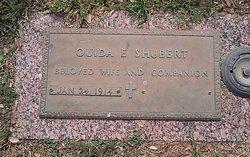 Ouida E <I>Sargent</I> Shubert
