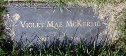Violet Mae <I>Buchanan</I> McKerlie