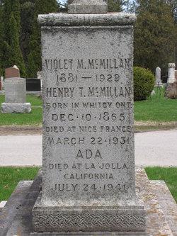 Violet May McMillan