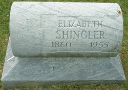 Elizabeth Amelia <I>Dick</I> Shingler
