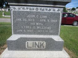 Ethel D. <I>Williams</I> Link
