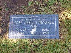 """Jose Cesilio """"Pete"""" Nevarez"""