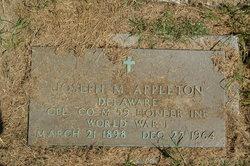 Joseph M Appleton