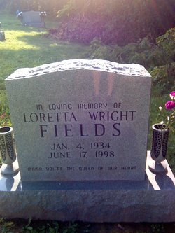 Loretta <I>Wright</I> Fields