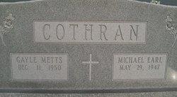 Gayle <I>Metts</I> Cothran