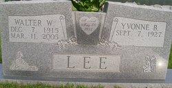 Walter W. Lee