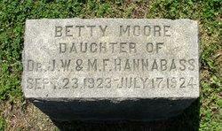 Betty Moore Hannabass
