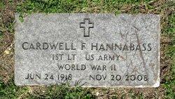 Cardwell F. Hannabass