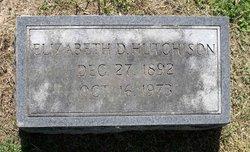 Elizabeth D. Hutchinson