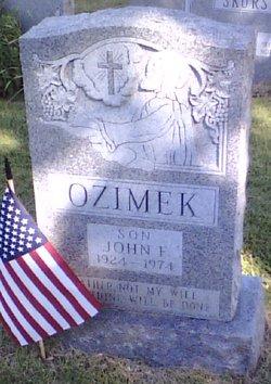 John F Ozimek