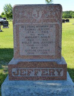 Violet Ann <I>Jeffrey</I> Graeber