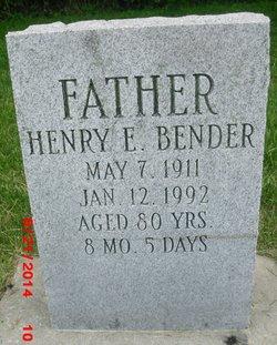 Henry E Bender