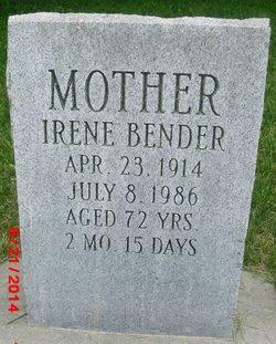 Irene <I>Nissley</I> Bender