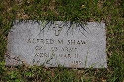 Alfred M Shaw