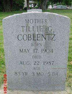 Tillie G Coblentz