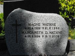 Margareth D Wathne