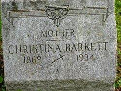 Christina <I>Jebora</I> Barkett