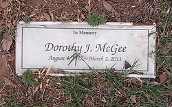 Dorothy J McGee